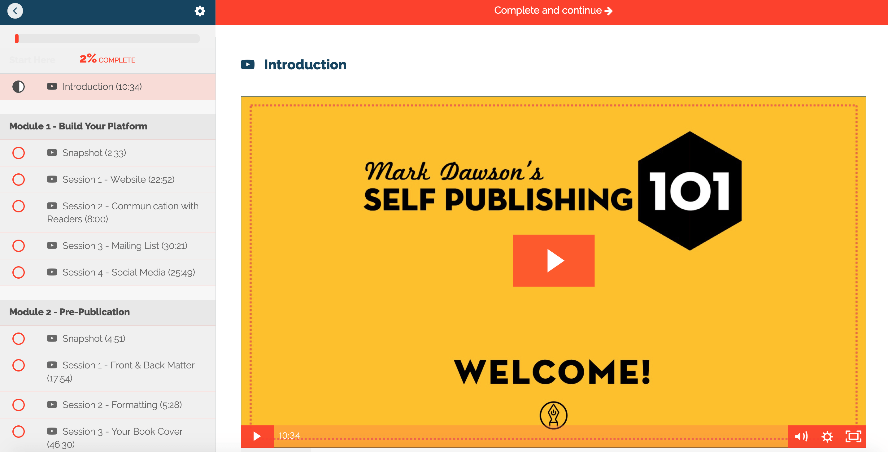 Mark Dawson's Self Publishing Formula